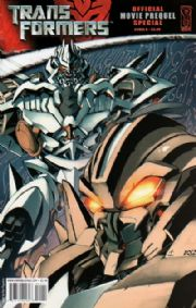 Transformers Movie Prequel Special Cover B IDW comic book